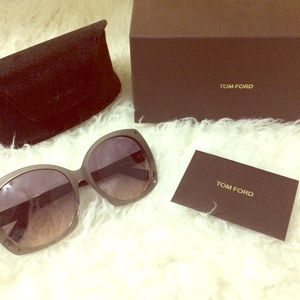 Brand New Authentic Tom Ford Oversized Sunglasses